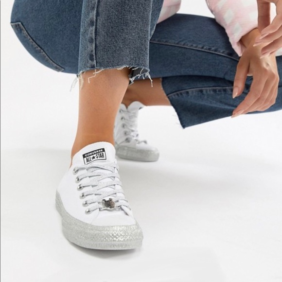 Converse Shoes Chuck Taylor By Miley Cyrus Poshmark